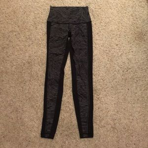 Lululemon High Times Wing Mesh Pant